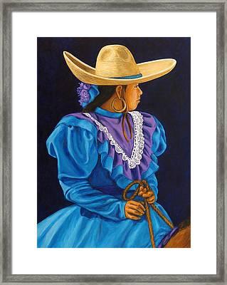 Charra Linda Framed Print by Pat Haley