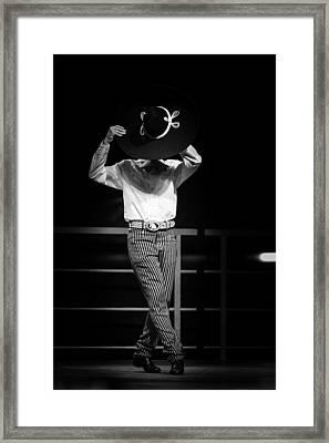 Charro 2 Framed Print