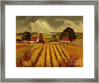 Chart Sutton Framed Print by Eric Hains
