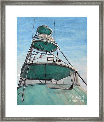 Charter Bridge Framed Print