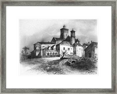 Charterhouse Of Parma Framed Print by Granger