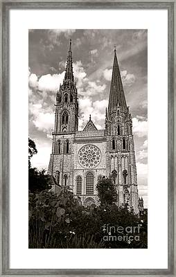 Chartres Cathedral Framed Print