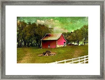 Chartreuse Of Legend Framed Print by Liane Wright