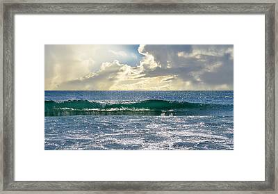 Charybdis Framed Print by Laura Fasulo