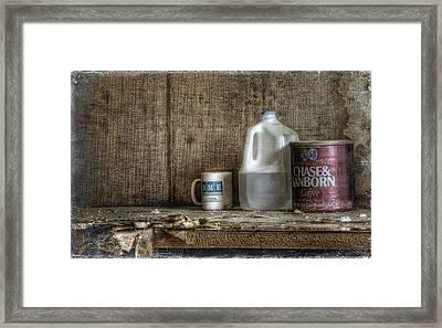 Chase And Sanborn Framed Print