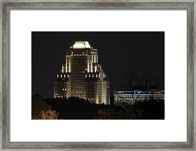 Chase Park Plaza From Art Hill Framed Print