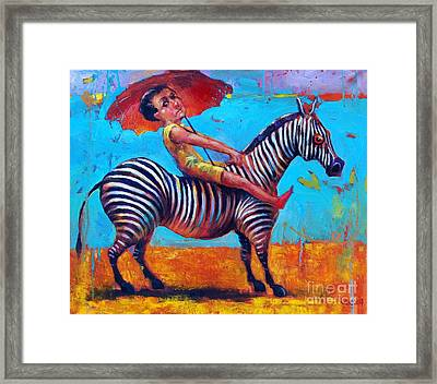Chasing A Dream Framed Print by Michal Kwarciak