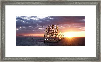 Chasing Sunsets Framed Print