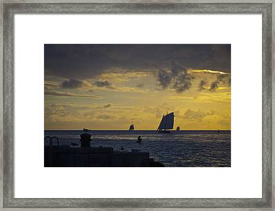 Chasing The Wind Vii Framed Print by Scott Meyer