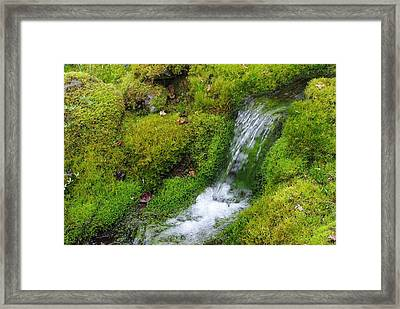 Framed Print featuring the photograph Chasing Waterfalls by Marilyn Wilson