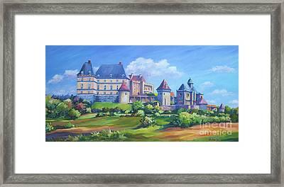 Chateau Biron  Dordogne Framed Print