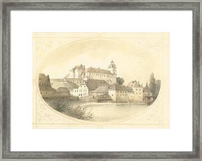 Chateau Brandys Nad Labem Framed Print by Jenny Rainbow