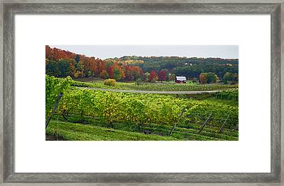 Chateau Chantal In Autumn 2014 Framed Print