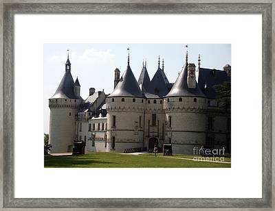 Chateau Chaumont Sur Loire Framed Print by Ros Drinkwater