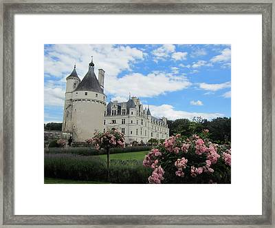 Framed Print featuring the photograph Chateau Chenonceau by Pema Hou