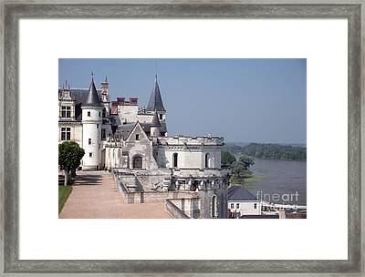 Chateau D Amboise Framed Print by Ros Drinkwater