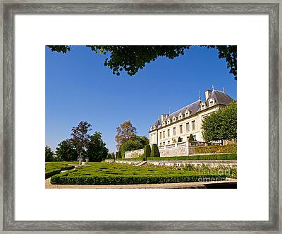 Chateau D'auvers-sur-oise Framed Print by Alex Cassels