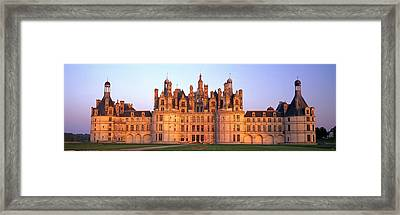 Chateau De Chambord Chambord Chateau Framed Print by Panoramic Images