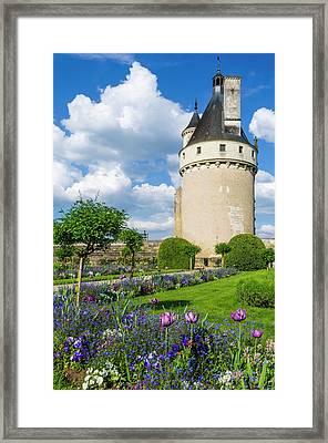 Chateau De Chenonceau, Chenonceaux Framed Print