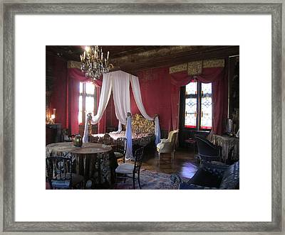 Framed Print featuring the photograph Chateau De Cormatin by Travel Pics