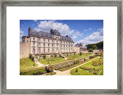 Chateau De L Hermine Vannes Brittany Framed Print by Colin and Linda McKie