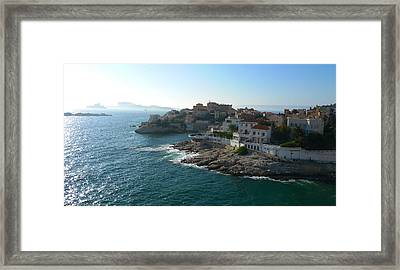 Chateau D'if Bay Of Marseille Framed Print