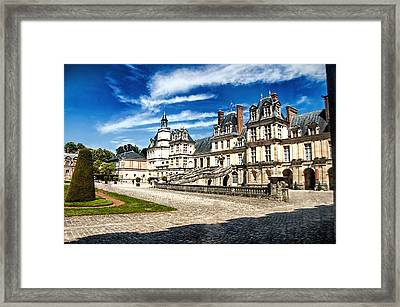 Chateau Fontainebleau - France Framed Print by Jon Berghoff