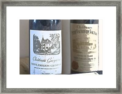 Chateau Gueyrosse Framed Print by Georgia Fowler