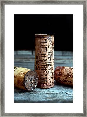 Chateau Mouton Rothschild Cork Framed Print