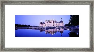 Chateau Royal De Chambord, Loire Framed Print by Panoramic Images
