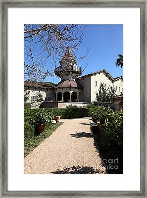Chateau St. Jean Winery 5d22201 Framed Print by Wingsdomain Art and Photography