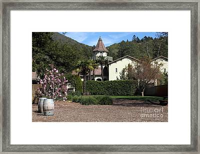 Chateau St. Jean Winery 5d22209 Framed Print by Wingsdomain Art and Photography