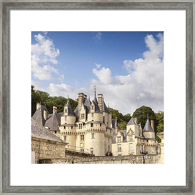 Chateau Usse Loire Valley France Framed Print by Colin and Linda McKie