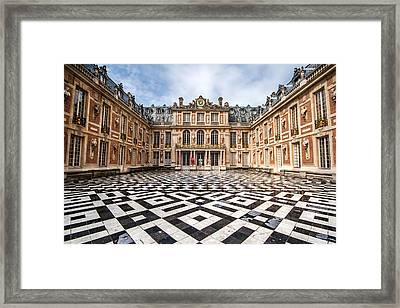 Chateau Versailles France Framed Print