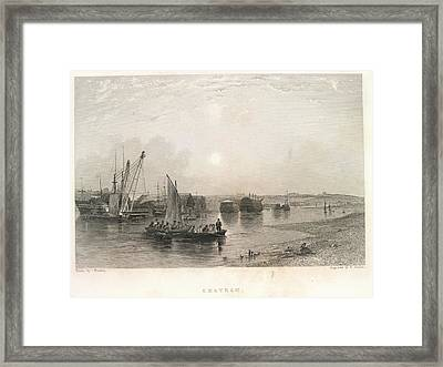 Chatham Framed Print by British Library