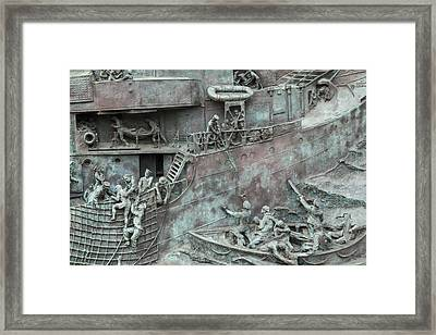 Chatham Dockyard Memorial Framed Print by Dawn OConnor