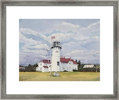 Chatham Light Framed Print