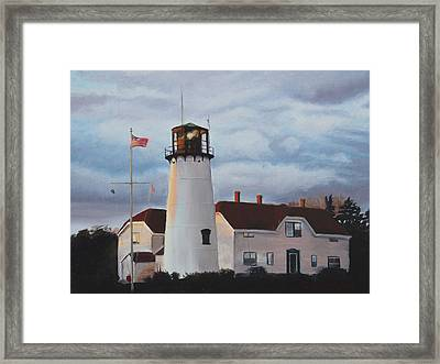 Chatham Lighthouse Framed Print by Sue Birkenshaw