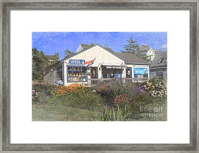 Chatham Shops Framed Print by Jayne Carney
