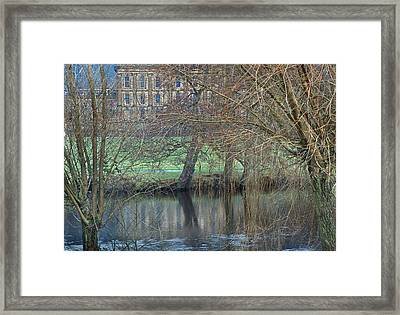 Chatsworth House December Framed Print by Jerry Daniel