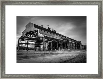 Chattanooga Abandoned Warehouse 1 Framed Print