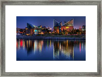 Chattanooga Aquarium Framed Print