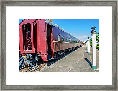 Framed Print featuring the photograph Chattanooga Choo Choo 1 by Susan  McMenamin