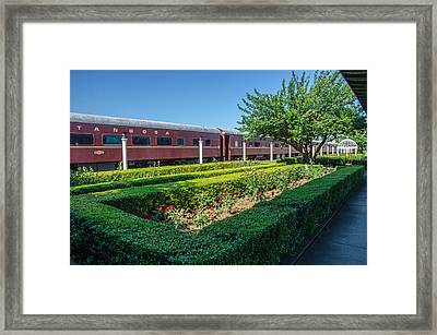 Framed Print featuring the photograph Chattanooga Choo Choo 2 by Susan  McMenamin