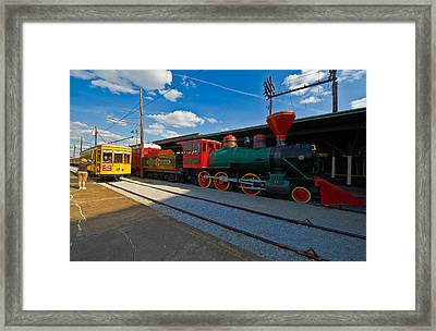 Chattanooga Choo Choo At The Creative Framed Print by Panoramic Images