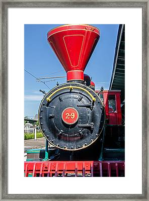 Chattanooga Choo Choo Steam Engine Framed Print