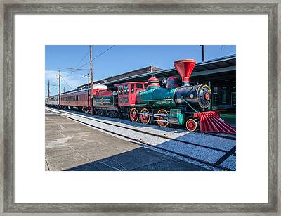 Framed Print featuring the photograph Chattanooga Choo Choo by Susan  McMenamin