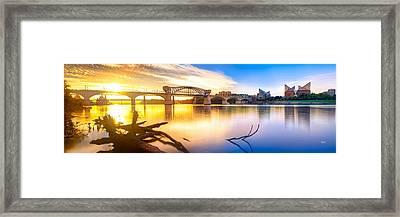 Chattanooga Sunrise 2 Framed Print