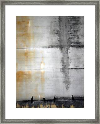 Chatter Of One  Framed Print by Jerry Cordeiro