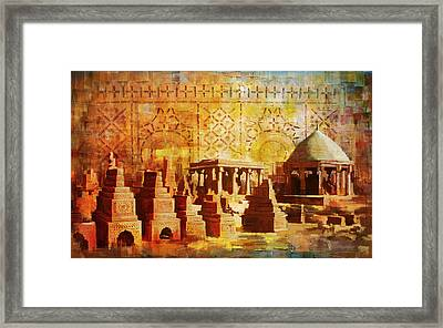 Chaukhandi Tombs Framed Print by Catf